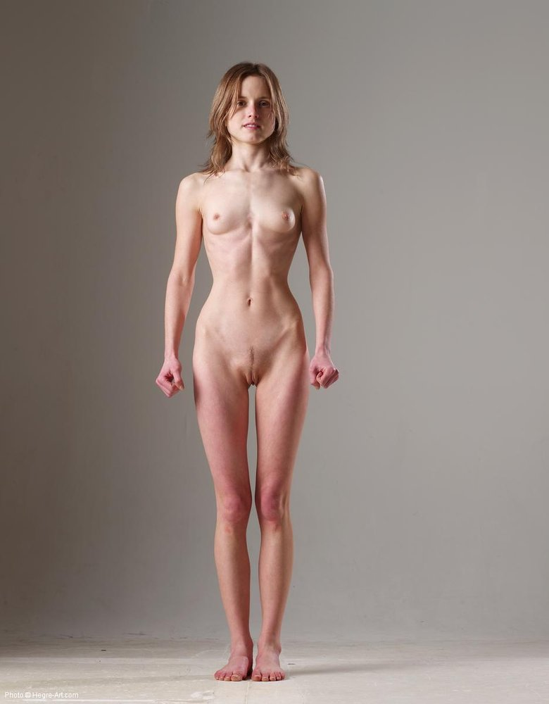 nude art thin girls